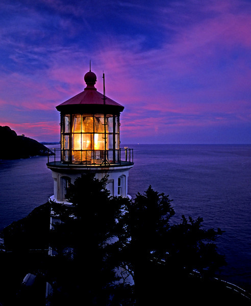 Heceta Lighthouse, Oregon.