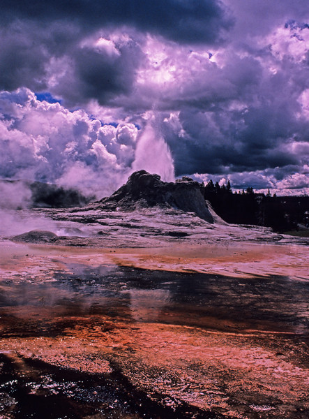 Castle Geyser, Yellowstone  # 7ed1