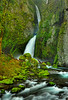 Wahclella Falls, Columbia River Gorge.  HDR blend of 4 images.   # 280-127HDR
