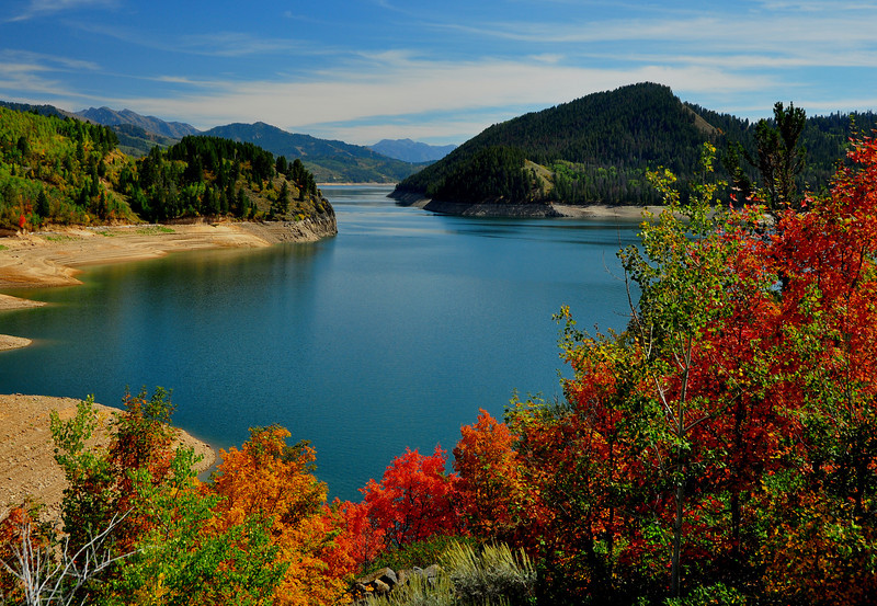 Palisades Reservoir, Idaho  # 232-265