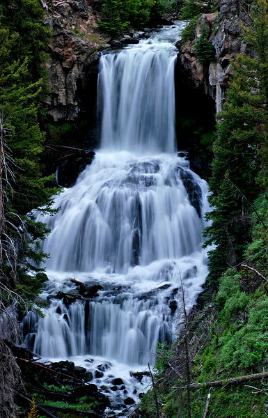 Undine Falls, Yellowstone # 50-59