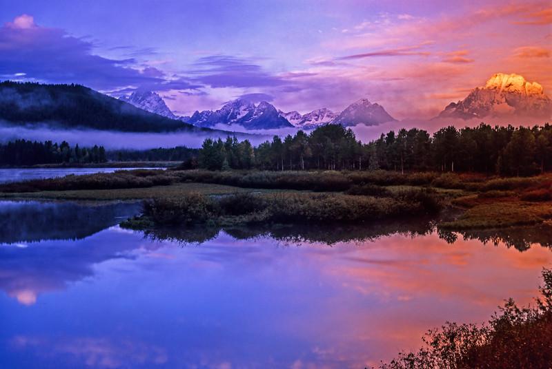 Oxbow Bend, Grand Teton National Park  # 12ed1
