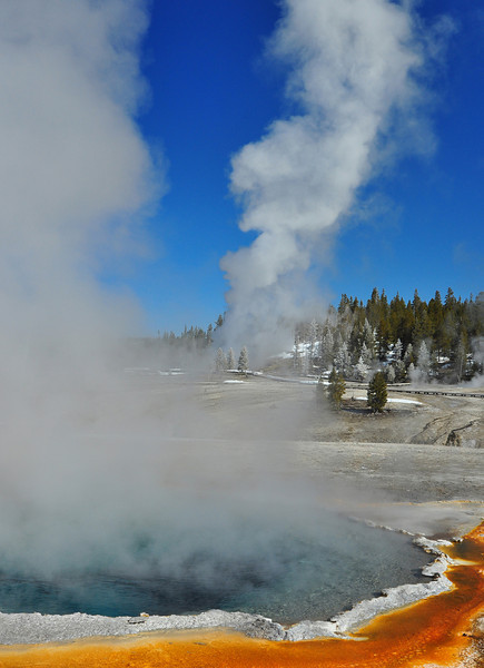 """Crested Pool"", Yellowstone    #36-4/23ed2"