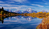 Oxbow Bend, Grand Teton National Park.