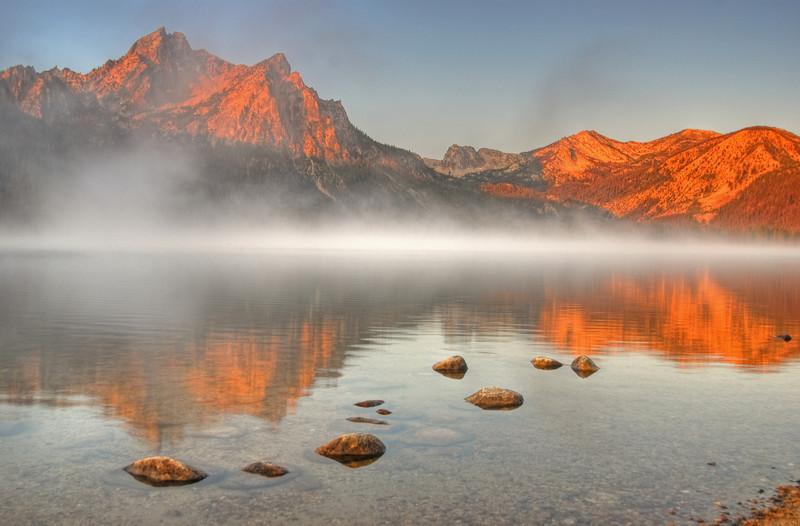 Stanley Lake, Sawtooth NRA  # 100-185HDR