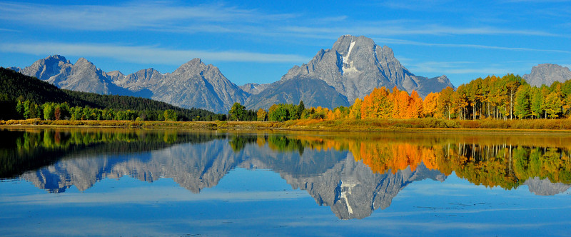 Grand View of Oxbow Bend, GTNP  # 223-266ed4P