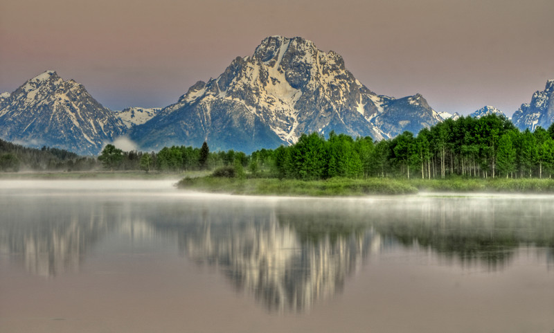Oxbow Bend  # 52-153HDR