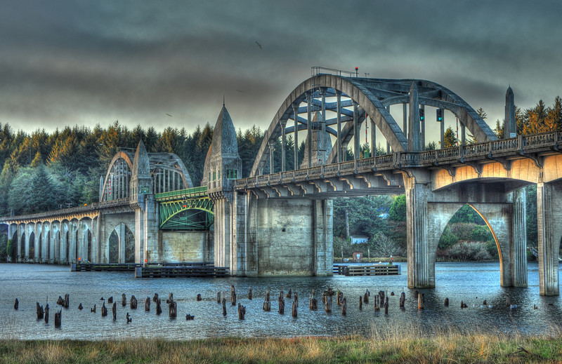 Siuslaw River Bridge # 43-11/20/11HDRP