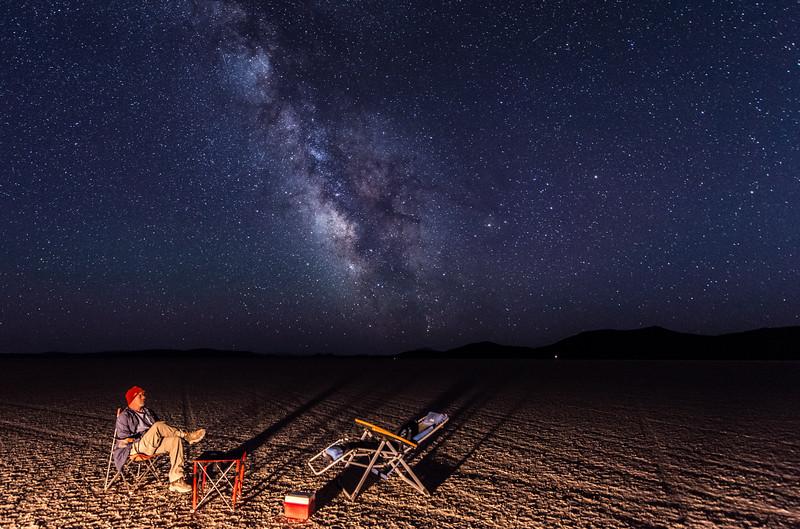 """""""Selfie""""  Alvord Desert, Oregon."""