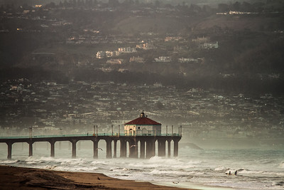 Manhattan Beach Pier Sunrise