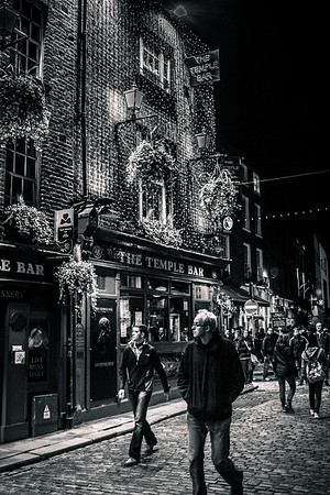 Temple Bar District, Dublin, Ireland.