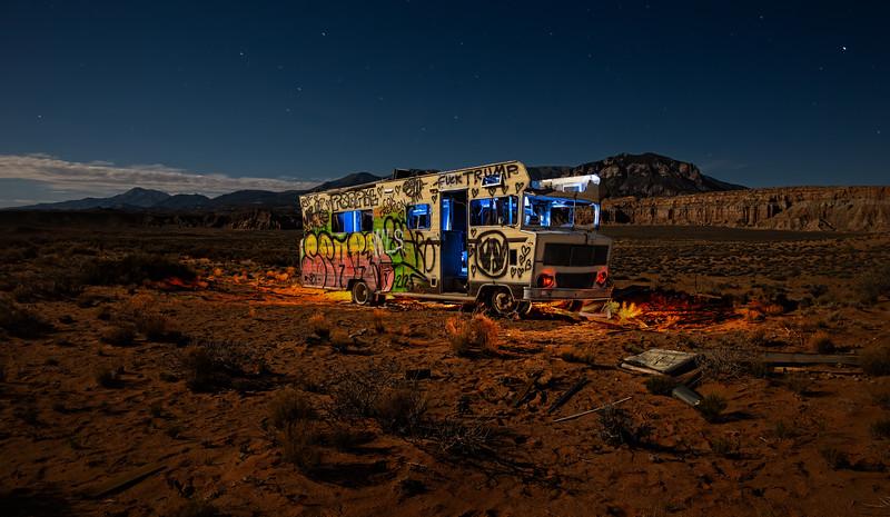 Lost RV in Utah
