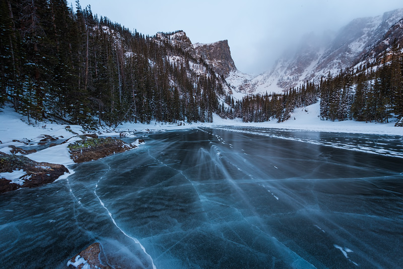 A Storm Hits Dream Lake