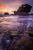 Sunset at Pura Tanah Lot