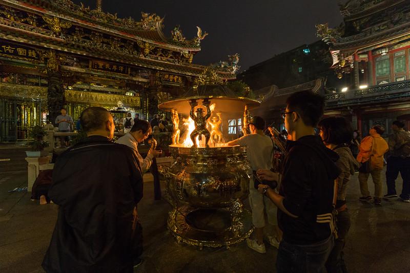 Worship at the Elephant Pot