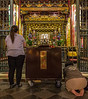 Praying at the Temple