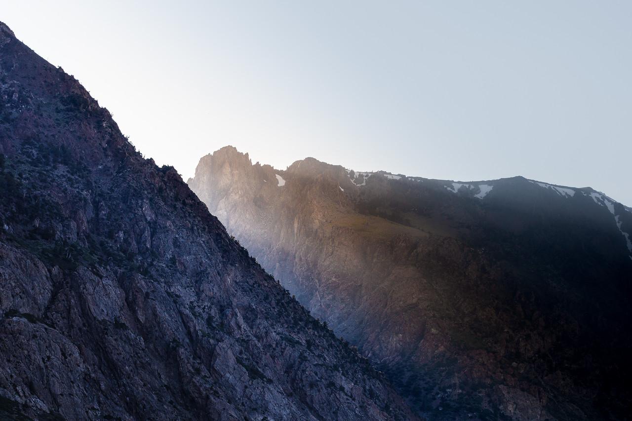 Last Light Through the Pass, Eastern Sierra Nevada