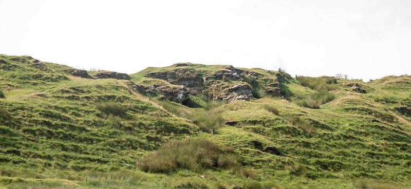 Farmland around the fort