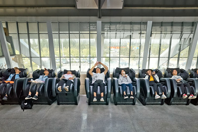Departure gate area, Datong Airport, Datong, Shanxi Province