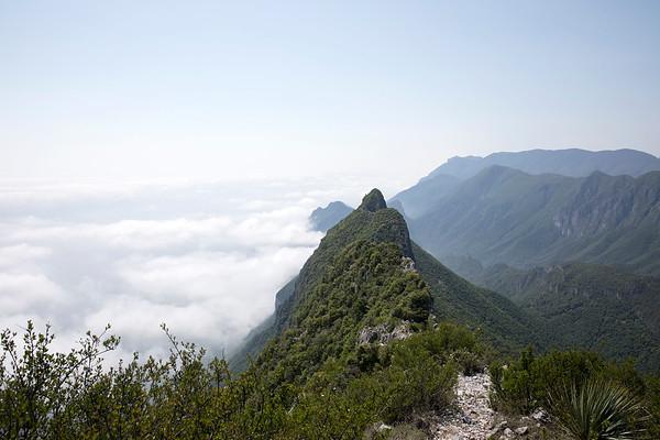 View south from Copete de las Aguilas