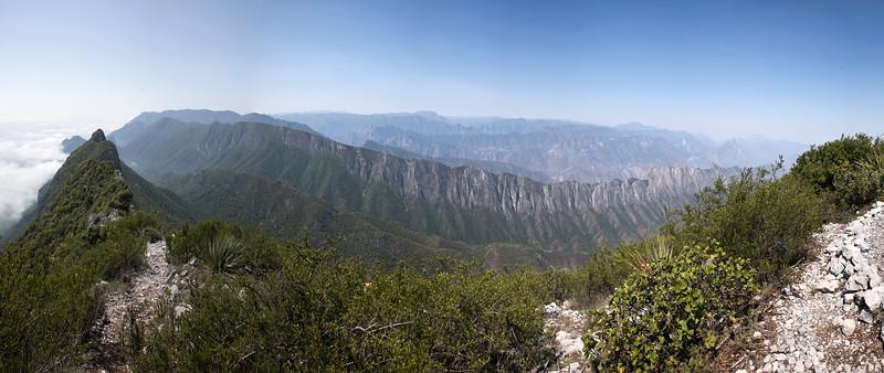 View West from Copete de las Aguilas