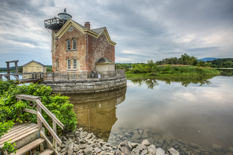 Saugerties Lighthouse, Saugerties, New York, USA