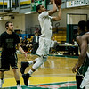 Fitchburg State's Joshua Bosworth in against against Elms College on Tuesday evening. SENTINEL & ENTERPRISE / Ashley Green