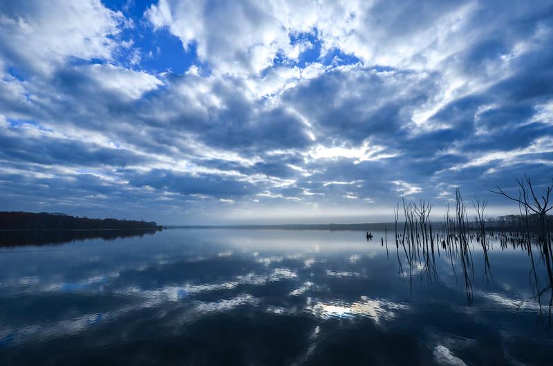 Foggy Morning On Manasquan Reservoir, Howell, NJ