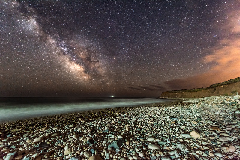 Milky Way Over Montauk Beach 5/3/17