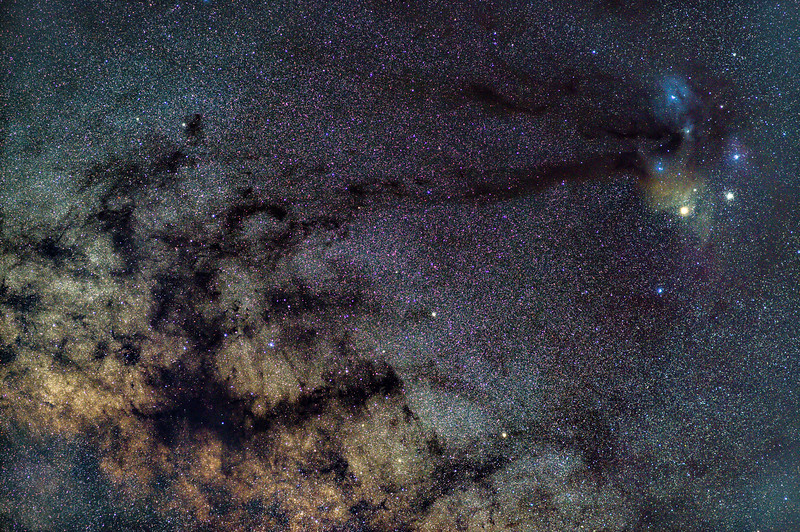 The Milky Way Galactic Core 4/19/20
