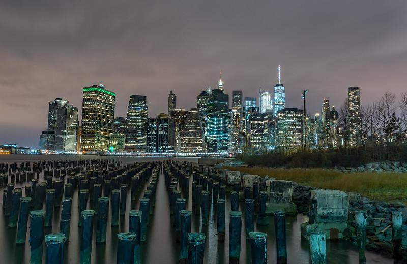 Lower Manhattan Skyline from Brooklyn 1/28/17
