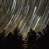 Star Trails Over Cherry Springs Park, PA