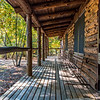 Log Cabin at Allaire State Park 10/18/16