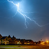 Lightning Over The Great Auditorium In Ocean Grove 6/3/20