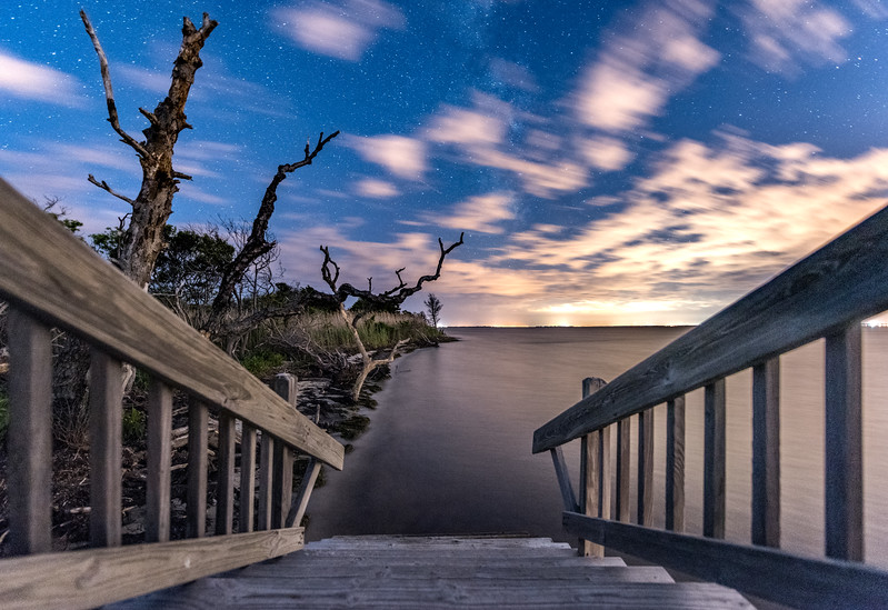 Staircase to Barnegat Bay 6/2/17