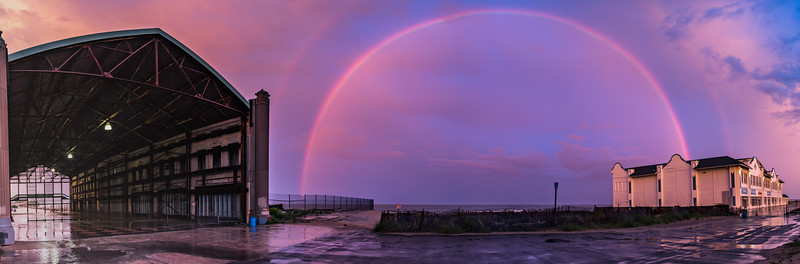 Double Rainbow Panorama 6/5/16