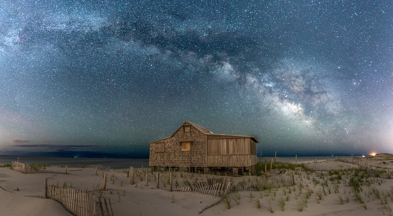Milky Way Arching Over Judge's Shack (Re-edit) 6/8/16