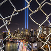 The Tribute in Light Over The FDR Drive and Lower Manhattan 9/11/19