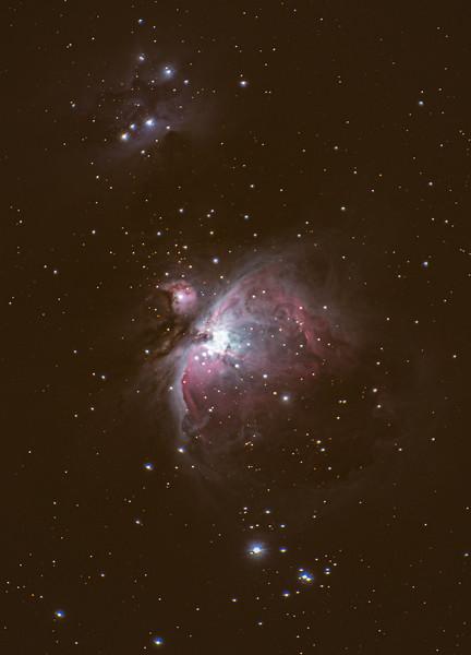 The Orion Nebula (M42) 1/22/20