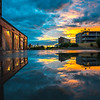 Sunset Reflection in Asbury Park 6/5/16