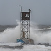 Nor'easter at Shark River Inlet 10/27/18
