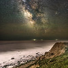 The Milky Way With Air Glow Rising Over The Ocean & Eroded Bluffs At Camp Hero, Montauk, NY 5/21/20