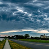 Mammatus Clouds Over Spring Lake 7/6/20