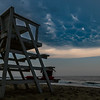 Mammatus Clouds Over A Lifeguard Stand On Belmar Beach 7/6/20