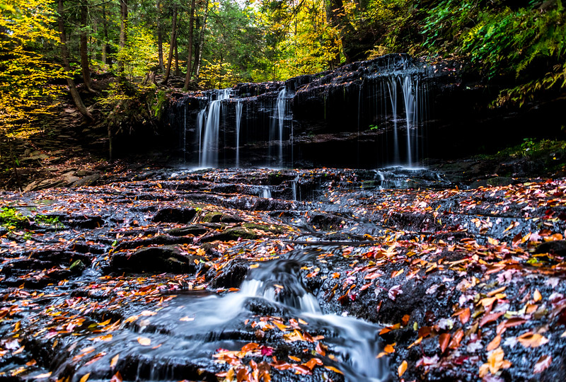 Silky Waterfall at Rickett's Glen State Park 10/13/16