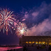 Fireworks Over Convention Hall, Asbury Park, NJ