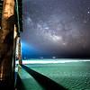 Milky Way Rising Over Avalon Pier 5/9/16