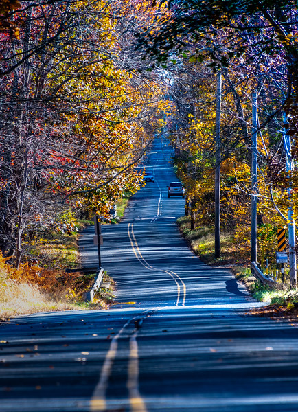 Autumn Colors Along Winding Road 11/4/18