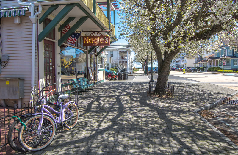Ocean Grove Street Scene 4/10/16