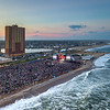 Sunset Over the Sea Hear Now Festival On The Asbury Park Beach 9/18/21